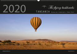Tansania 2020 (Wandkalender 2020 DIN A2 quer) von flying bushhawks,  The