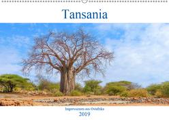 Tansania. Impressionen aus Ostafrika (Wandkalender 2019 DIN A2 quer) von pixs:sell@fotolia, Stock,  pixs:sell@Adobe