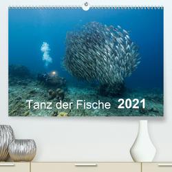 Tanz der Fische (Premium, hochwertiger DIN A2 Wandkalender 2021, Kunstdruck in Hochglanz) von - Yvonne & Tilo Kühnast,  naturepics