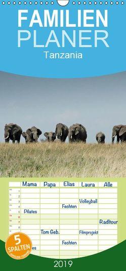 Tanzania – Familienplaner hoch (Wandkalender 2019 , 21 cm x 45 cm, hoch) von Dürr,  Brigitte