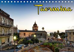 Taormina zur blauen Stunde (Tischkalender 2019 DIN A5 quer) von Schneider,  Jens