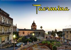 Taormina zur blauen Stunde (Wandkalender 2020 DIN A2 quer) von Schneider,  Jens