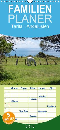 Tarifa – Andalusien – Familienplaner hoch (Wandkalender 2019 , 21 cm x 45 cm, hoch) von Peitz,  Martin
