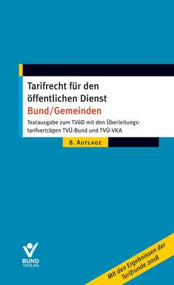 Tarifrecht für den öffentlichen Dienst – Bund/Gemeinden von Pieper,  Wolfgang