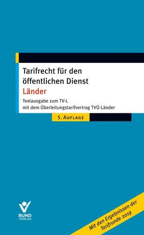 Tarifrecht für den öffentlichen Dienst – Länder von Pieper,  Wolfgang