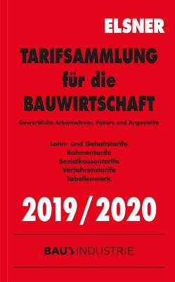 Tarifsammlung für die Bauwirtschaft 2019/2020 von Brettschneider,  Stefan, Wulf,  Nadine
