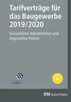 Tarifverträge für das Baugewerbe 2019/2020 von Jöris,  Heribert