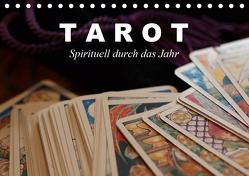 Tarot. Spirituell durch das Jahr (Tischkalender 2020 DIN A5 quer) von Stanzer,  Elisabeth