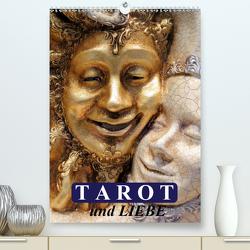 Tarot und Liebe (Premium, hochwertiger DIN A2 Wandkalender 2020, Kunstdruck in Hochglanz) von Stanzer,  Elisabeth