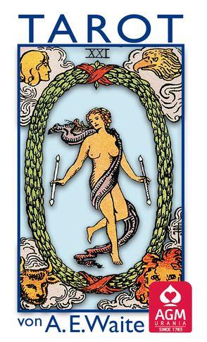 Tarot von A.E. Waite von Colman Smith,  Pamela, Waite,  Arthur Edward