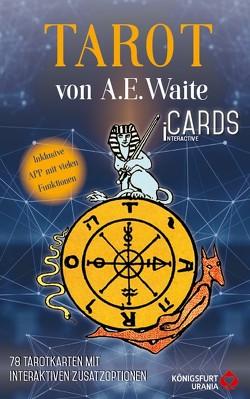Tarot von A.E. Waite – iCards von Banzhaf,  Hajo, Christoph,  Noemi, Smith,  Pamela Colman, Waite,  Arthur Edward