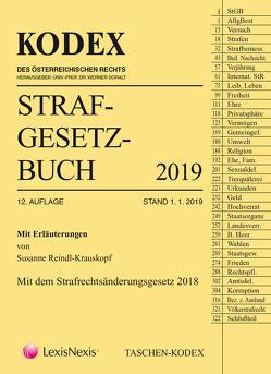 Taschen-Kodex Strafgesetzbuch 2019 von Doralt,  Werner, Fuchs,  Helmut, Reindl-Krauskopf,  Susanne