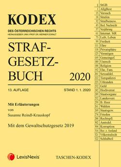 Taschen-Kodex Strafgesetzbuch 2020 von Doralt,  Werner, Fuchs,  Helmut, Reindl-Krauskopf,  Susanne