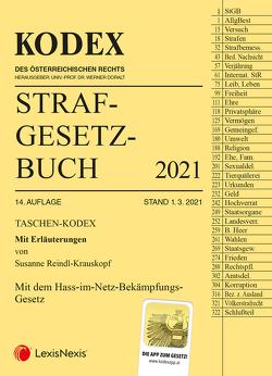 Taschen-Kodex Strafgesetzbuch 2021 von Doralt,  Werner, Reindl-Krauskopf,  Susanne