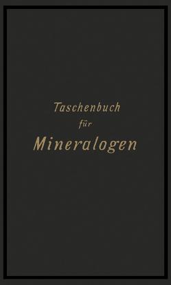 Taschenbuch für Mineralogen von Riemann,  Carl