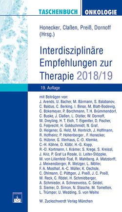 Taschenbuch Onkologie von Classen,  Johannes, Dornoff,  Wolfgang, Honecker,  Friedemann, Preiss,  Joachim