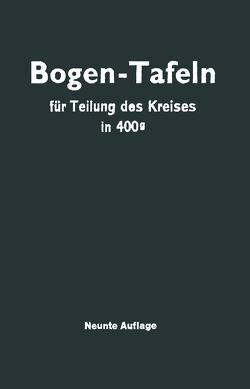 Taschenbuch zum Abstecken von Kreisbogen von Höfer,  Max, Streble,  Jürgen