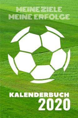 Taschenkalender 2020 / Kalenderbuch 2020 – Fußball von Lenda,  Karl