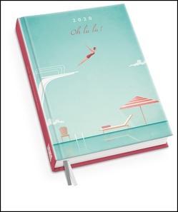 Taschenkalender 2020 – Oh la la! – Terminplaner mit Wochenkalendarium – Format 11,3 x 16,3 cm von DUMONT Kalenderverlag, Rivers,  Henry