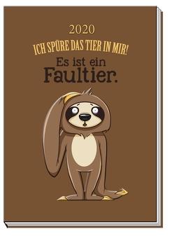 "Taschenkalender ""Faultier"" 2020"