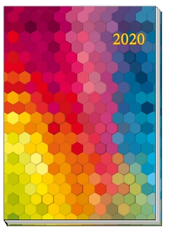 """Taschenkalender """"Rainbow"""" 2020"""