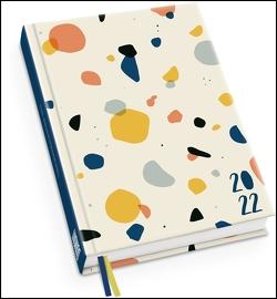 Taschenkalender »Terrazzo« 2022 ‒ Terminplaner mit Wochenkalendarium ‒ Format 11,3 x 16,3 cm von Lehmann,  Andrea