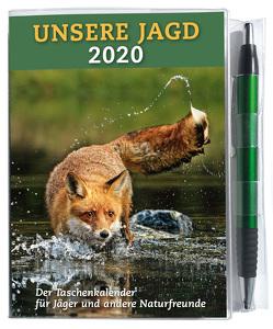 Taschenkalender UNSERE JAGD 2020