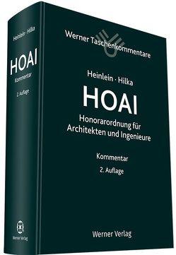 Taschenkommentar HOAI von Heinlein,  Klaus, Hilka,  Matthias