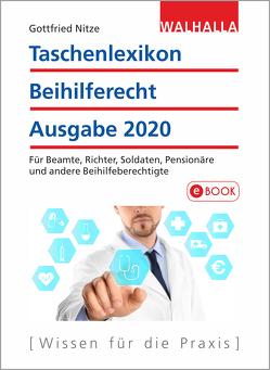 Taschenlexikon Beihilferecht Ausgabe 2020 von Nitze,  Gottfried