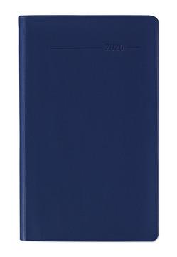Taschenplaner Leporello PVC blau 2020 – Bürokalender – Taschenplaner (9,5 x 16) – separates Adressheft – Terminplaner – Notizheft von ALPHA EDITION