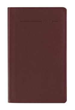 Taschenplaner Leporello PVC rot 2020 – Bürokalender – Taschenplaner (9,5 x 16) – separates Adressheft – Terminplaner – Notizheft von ALPHA EDITION