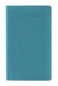 Taschenplaner PVC türkis 2020 – Bürokalender – Taschenplaner (9,5 x 16) – 32 Seiten – separates Adressheft – Terminplaner – Notizheft von ALPHA EDITION