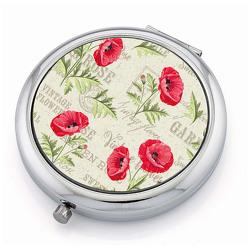 Taschenspiegel »Mohnblüten«