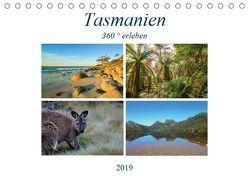 Tasmanien 360° erleben (Tischkalender 2019 DIN A5 quer) von Fietzek,  Anke