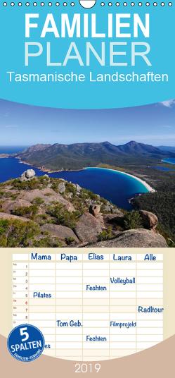 Tasmanische Landschaften – Familienplaner hoch (Wandkalender 2019 , 21 cm x 45 cm, hoch) von Smith,  Sidney