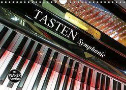 TASTEN Symphonie (Wandkalender 2019 DIN A4 quer) von Bleicher,  Renate