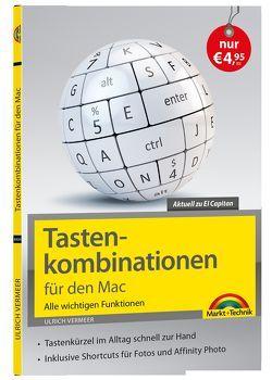 Tastenkombinationen für den Mac – Alle wichtigen Funktionen von Vermeer,  Ulrich