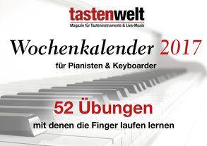 tastenwelt Wochenkalender 2017 von Redaktion Tastenwelt