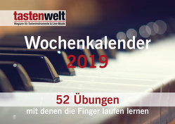 Tastenwelt Wochenkalender 2019