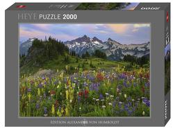 Tatoosh Mountains Puzzle von Reed,  Aaron
