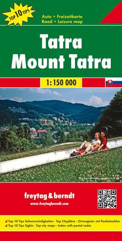 Tatra, Autokarte 1:150.000