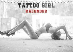 TATTOO GIRL KALENDER (Tischkalender 2019 DIN A5 quer) von Xander,  Andre