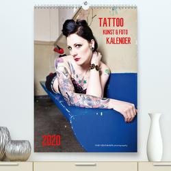 TATTOO KUNST & FOTO KALENDER (Premium, hochwertiger DIN A2 Wandkalender 2020, Kunstdruck in Hochglanz) von SEIFINGER,  TOBY