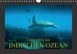 Tauchen im Indischen Ozean (Wandkalender 2018 DIN A4 quer) von Meutzner,  Dirk