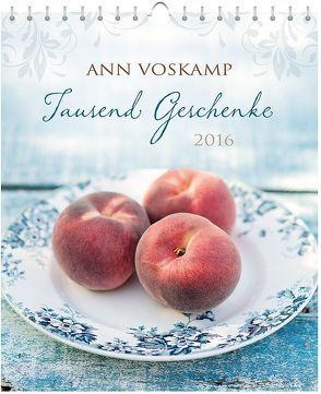 Tausend Geschenke 2016 – Postkartenkalender* von Voskamp,  Ann