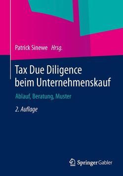 Tax Due Diligence beim Unternehmenskauf von Sinewe,  Patrick
