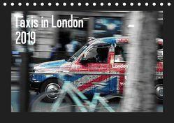 Taxis in London (Tischkalender 2019 DIN A5 quer) von Silberstein,  Reiner