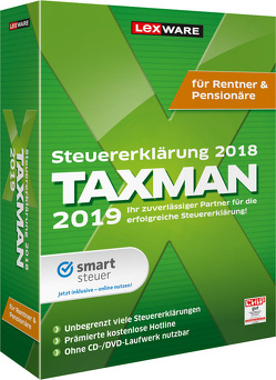 TAXMAN 2019 für Rentner & Pensionäre
