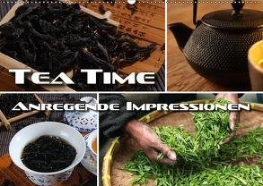 Tea Time – anregende Impressionen (Wandkalender 2018 DIN A2 quer) von Bleicher,  Renate