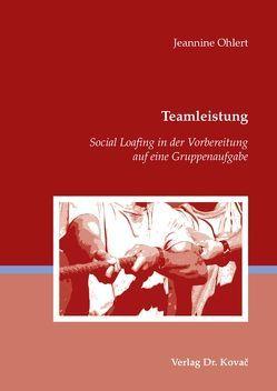 Teamleistung von Ohlert,  Jeannine